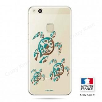 Coque Huawei P10 Lite souple motif Famille Tortue - Crazy Kase
