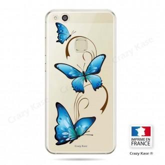 Coque Huawei P10 Lite souple motif Papillon sur Arabesque - Crazy Kase