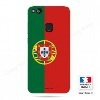 Coque Huawei P10 Lite souple motif Drapeau Portugais - Crazy Kase