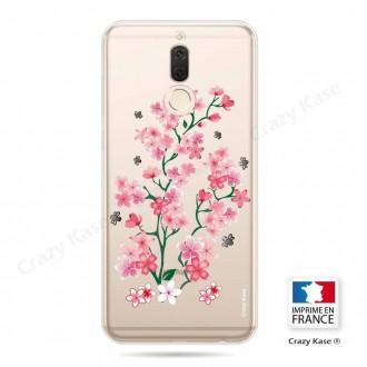Coque Huawei Mate 10 Lite souple motif Fleurs de Sakura - Crazy Kase