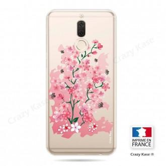 Coque Huawei Mate 10 Lite souple motif Fleurs de Cerisier - Crazy Kase