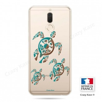 Coque Huawei Mate 10 Lite souple motif Famille Tortue - Crazy Kase