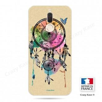 Coque Huawei Mate 10 Lite souple motif Attrape rêve et papillon - Crazy Kase