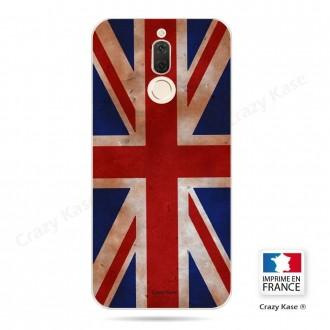 Coque Huawei Mate 10 Lite souple motif Drapeau UK vintage - Crazy Kase
