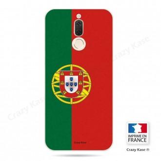 Coque Huawei Mate 10 Lite souple motif Drapeau Portugais - Crazy Kase