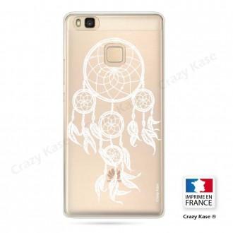 Coque Huawei P9 Lite souple motif Attrape Rêves Blanc - Crazy Kase