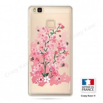 Coque Huawei P9 Lite souple motif Fleurs de Cerisier - Crazy Kase