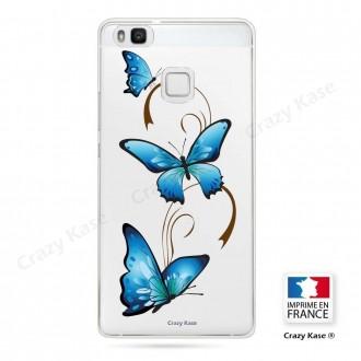 Coque Huawei P9 Lite souple motif Papillon sur Arabesque - Crazy Kase