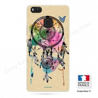 Coque Huawei P9 Lite souple motif Attrape rêve et papillon - Crazy Kase