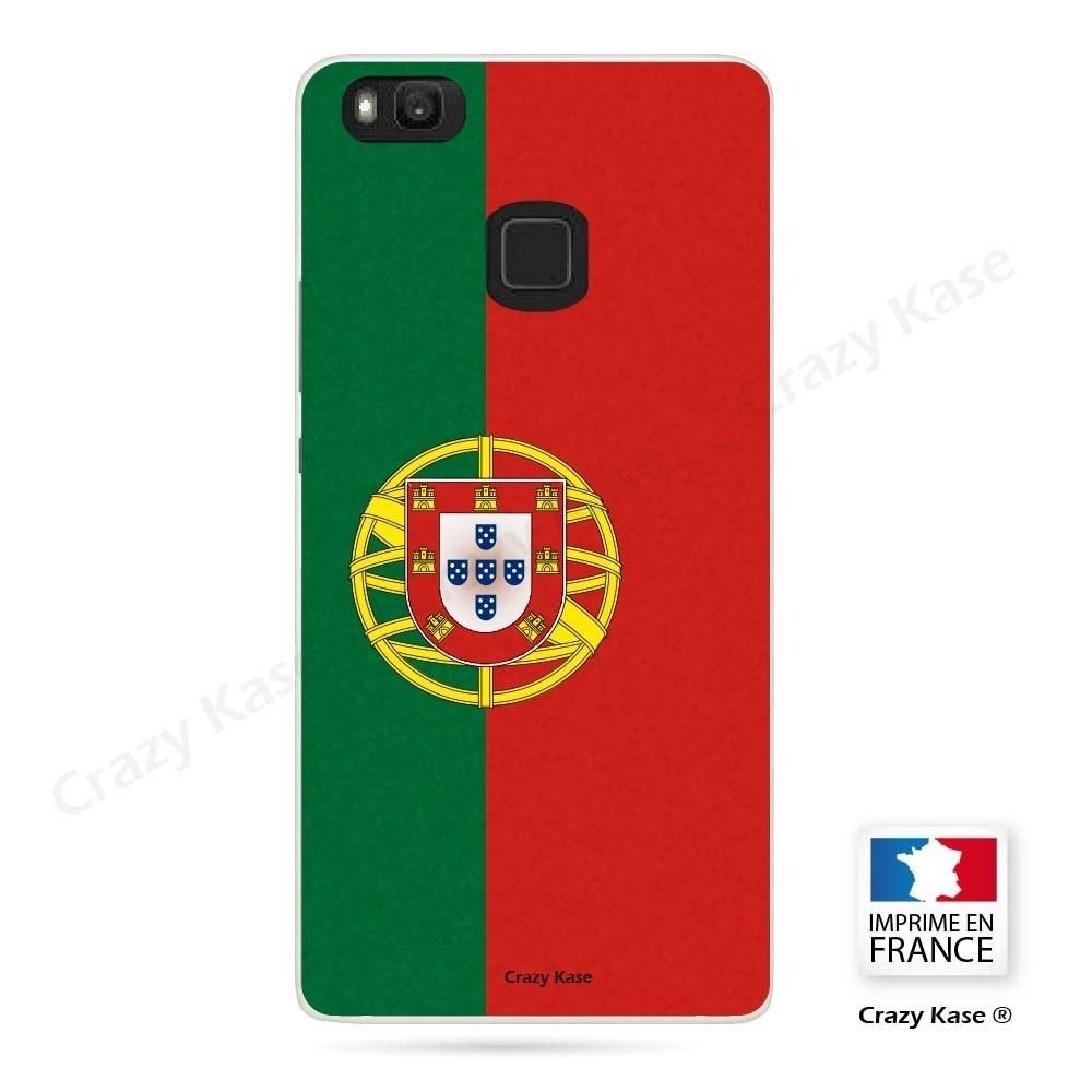 Coque Huawei P9 Lite souple motif Drapeau Portugais - Crazy Kase