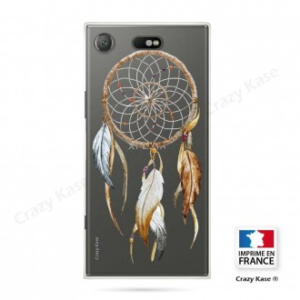 Coque Xperia XZ1 Compact souple motif Attrape Rêves Nature - Crazy Kase