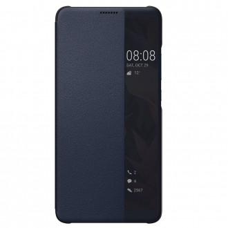 Etui Huawei Mate 10 Pro Folio Smart View Flip Bleu Nuit - Huawei