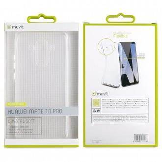 Coque Huawei Mate 10 Pro Transparente souple - Muvit