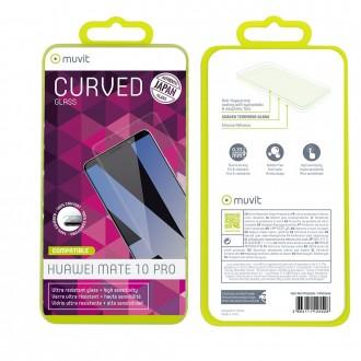 Film Huawei Mate 10 Pro protection écran verre trempé incurvé - Muvit