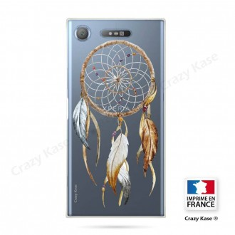 Coque Xperia XZ1 souple motif Attrape Rêves Nature - Crazy Kase