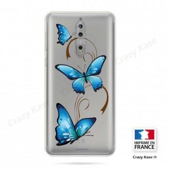 Coque Nokia 8 souple motif Papillon sur Arabesque - Crazy Kase