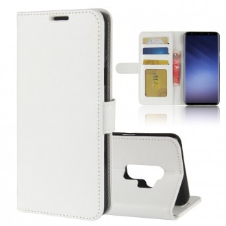 Etui Galaxy S9+ Portefeuille Blanc - Crazy Kase