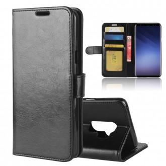 Etui Galaxy S9+ Portefeuille Noir - Crazy Kase