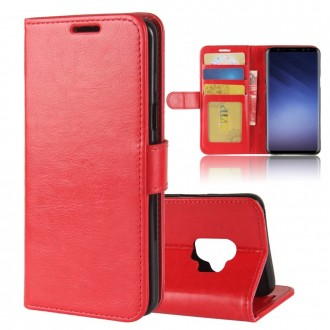Etui Galaxy S9 Portefeuille Rouge - Crazy Kase