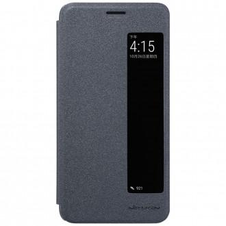 Etui Huawei Mate 10 Pro Noir avec fenêtre de visualisation - Nillkin