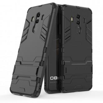 Coque Huawei Mate 10 Pro Bi-matière Noire - Crazy Kase
