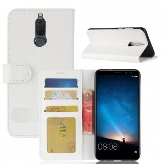 Etui Huawei Mate 10 Lite Portefeuille Blanc - Crazy Kase