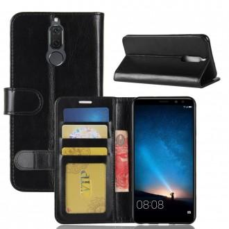 Etui Huawei Mate 10 Lite Portefeuille Noir - Crazy Kase