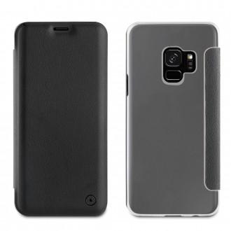 Etui Galaxy S9 Folio Noir - Muvit