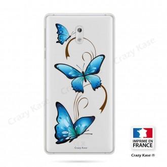 Coque Nokia 3 souple motif Papillon sur Arabesque - Crazy Kase