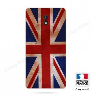 Coque Nokia 3 souple motif Drapeau UK vintage - Crazy Kase