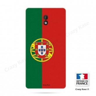 Coque Nokia 3 souple motif Drapeau Portugais - Crazy Kase