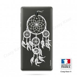 Coque Nokia 3 souple motif Attrape Rêves Blanc - Crazy Kase