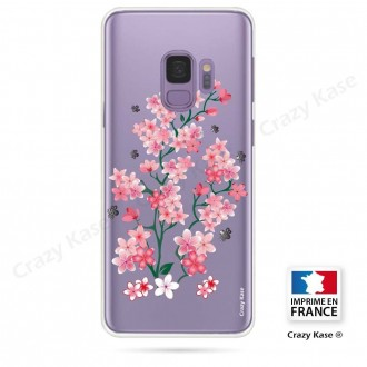 Coque Galaxy S9 souple motif Fleurs de Sakura - Crazy Kase