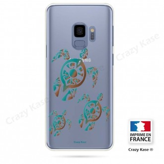 Coque Galaxy S9 souple motif Famille Tortue - Crazy Kase