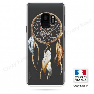 Coque Galaxy S9 souple motif Attrape Rêves Nature - Crazy Kase