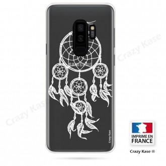 Coque Galaxy S9+ souple motif Attrape Rêves Blanc - Crazy Kase