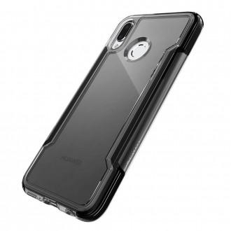 Coque Huawei P20 Lite Defense Clear Noire - Xdoria