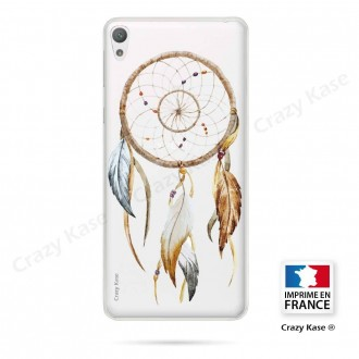 Coque Xperia E5 souple motif Attrape Rêves Nature - Crazy Kase