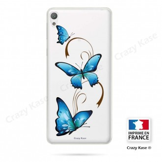 Coque Xperia E5 souple motif Papillon sur Arabesque - Crazy Kase
