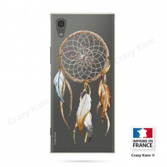 Coque Xperia XA1 souple motif Attrape Rêves Nature - Crazy Kase