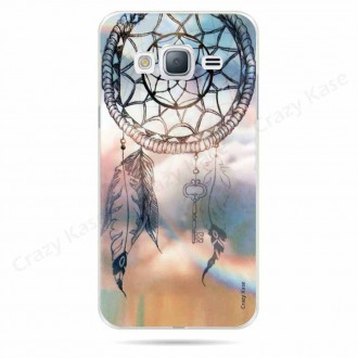Coque Galaxy J3 (2016) souple motif Attrape rêves   - Crazy Kase