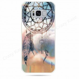 Coque Galaxy S8 souple motif Attrape rêves  - Crazy Kase
