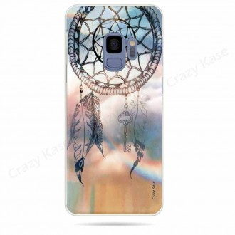 Coque Galaxy S9 souple motif Attrape rêves - Crazy Kase