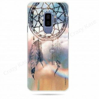 Coque Galaxy S9+ souple motif Attrape rêves - Crazy Kase