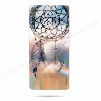 Coque Sony Xperia E5 souple motif Attrape rêves - Crazy Kase