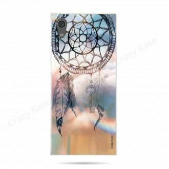 Coque Sony Xperia XA1 souple motif Attrape rêves - Crazy Kase