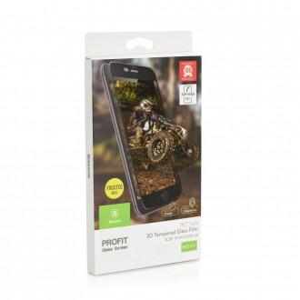 Film iPhone 6s / 6 protection écran verre trempé contour Noir dépoli - Baseus