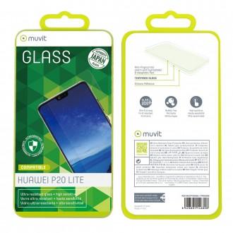 Film Huawei P20Lite protection écran verre trempé incurvé - Muvit