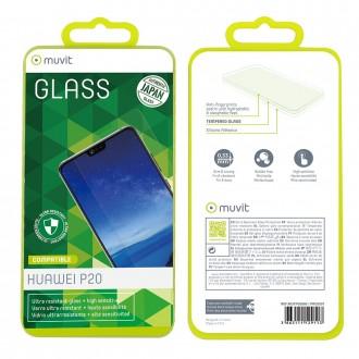 Film Huawei P20 protection écran verre trempé incurvé - Muvit