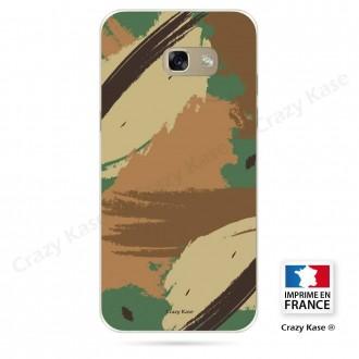 Coque Galaxy A3 (2017) souple motif Camouflage - Crazy Kase